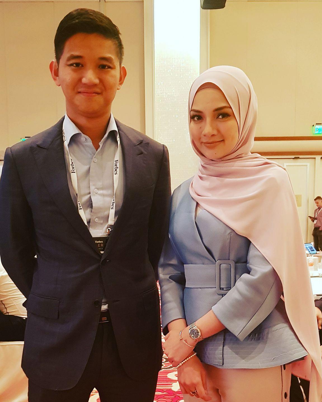 BookDoc Founder together Malaysia Super Star Neelofa Mohd Noor